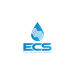 Elite Construction Services or ECS Logo - Entry #171