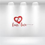 Four love Logo - Entry #258