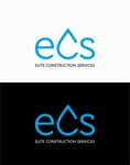 Elite Construction Services or ECS Logo - Entry #255