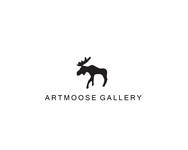 ArtMoose Gallery Logo - Entry #11