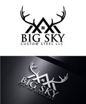 Big Sky Custom Steel LLC Logo - Entry #22