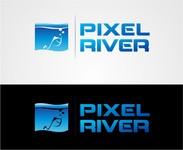 Pixel River Logo - Online Marketing Agency - Entry #216