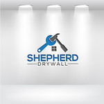 Shepherd Drywall Logo - Entry #194