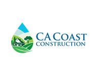 CA Coast Construction Logo - Entry #266