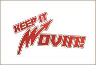 Keep It Movin Logo - Entry #410