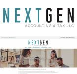 NextGen Accounting & Tax LLC Logo - Entry #481