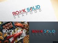 Rock Solid Seafood Logo - Entry #129