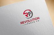 Revolution Fence Co. Logo - Entry #138