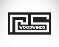 Woodwind repair business logo: R S Woodwinds, llc - Entry #98