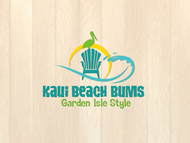 kauai beach bums Logo - Entry #16