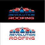 Revolution Roofing Logo - Entry #366