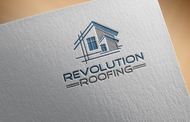 Revolution Roofing Logo - Entry #60