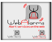 Logo for WebAlarms - Alert services on the web - Entry #199