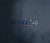"Open Road Wealth Services, LLC  (The ""LLC"" can be dropped for design purposes.) Logo - Entry #110"