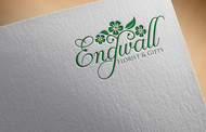 Engwall Florist & Gifts Logo - Entry #186