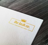 the lash co. Logo - Entry #107