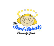 The Semi-Saintly Comedy Tour Logo - Entry #58