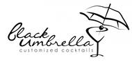 Black umbrella coffee & cocktail lounge Logo - Entry #207