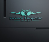 Twisted Turquoise Boutique Logo - Entry #93