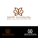 MvW Interiors Logo - Entry #15