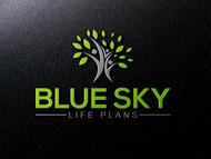 Blue Sky Life Plans Logo - Entry #72