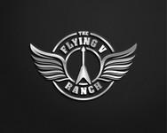 The Flying V Ranch Logo - Entry #111