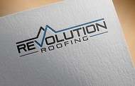 Revolution Roofing Logo - Entry #586