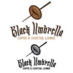 Black umbrella coffee & cocktail lounge Logo - Entry #13
