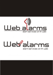 Logo for WebAlarms - Alert services on the web - Entry #57
