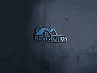 Revolution Roofing Logo - Entry #519