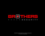 Brothers Security Logo - Entry #225
