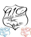 910 Auto Sales Logo - Entry #20