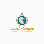 Sweet Pangea Logo - Entry #128
