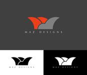 Maz Designs Logo - Entry #337