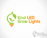 Kind LED Grow Lights Logo - Entry #3