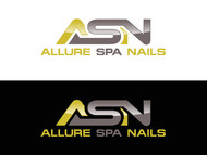 Allure Spa Nails Logo - Entry #47