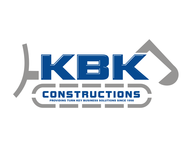 KBK constructions Logo - Entry #127