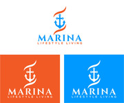 Marina lifestyle living Logo - Entry #42