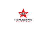 CZ Real Estate Rockstars Logo - Entry #148