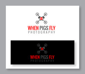 When Pigs Fly Photography Logo - Entry #27