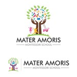 Mater Amoris Montessori School Logo - Entry #401