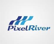 Pixel River Logo - Online Marketing Agency - Entry #219