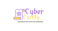 Cyber Certify Logo - Entry #176