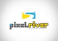 Pixel River Logo - Online Marketing Agency - Entry #182