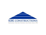 KBK constructions Logo - Entry #16