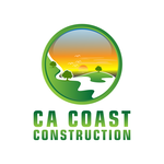 CA Coast Construction Logo - Entry #167