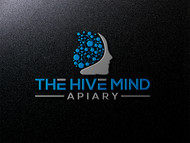 The Hive Mind Apiary Logo - Entry #26