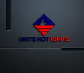 Unite not Ignite Logo - Entry #66
