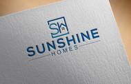 Sunshine Homes Logo - Entry #169