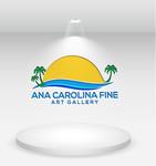 Ana Carolina Fine Art Gallery Logo - Entry #76